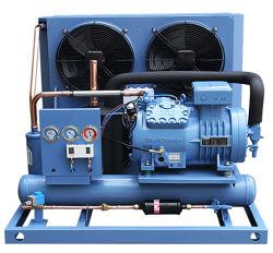De middelgrote Condenserende Eenheid van de Koude Opslag van de Compressor Refcom van de Lage Temperatuur Semi-Hermetic Luchtgekoelde