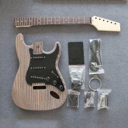 Zebrano meilleure copie St d'origine de la guitare électrique inachevée