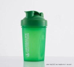 플라스틱 단백질 셰이커 병에 넣은 물 병이 싼 가격 400ml 다채로운 체조에 의하여