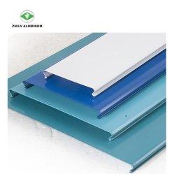 Windproof décoratifs en aluminium de métal en forme S linéaire pour l'extérieur de plafond