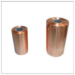 0.05mm conducteur ruban laminé feuille de cuivre à souder