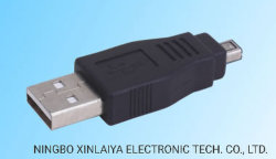 Soy USB Adaptador USB a mini USB 4p (XYA AM052)