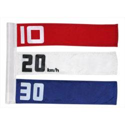 Un drapeau et impression de bannières Hot Vente de pavillon de golf en polyester