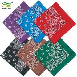El algodón Vintage Popular Cuadrado Bufanda de impresión (B-NF20F19016)