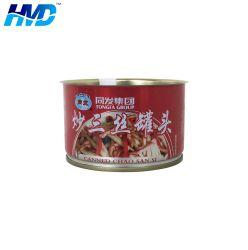 Het lege Kleine Voedsel kan voor de Verpakking van het Voedsel van het Vlees van de Tomatenpuree