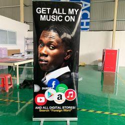La promotion de la Promotion de plein air aluminium Roll up Stand de la bannière pour les événements