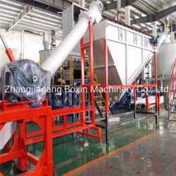 Пластмассовых ПЭТ/PP/HDPE/LDPE/LLDPE/ABS/PS/PVC/PC/BOPP бачок/кино/подушки безопасности/БАРАБАНА/поддон/труба/контейнера/Box/Jar/цилиндра экструдера линии дробления завод перерабатывающая установка мойки