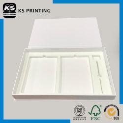 Высокое качество плоские складные доставки белой крафт-бумаги картона в салоне