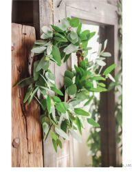 Vy оставляет 85 футов 12 жил искусственные листья висящих стеблей растений листья Гарланд дома сад яд костюм