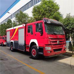Sino 트럭 HOWO 화재 텐더 8000 리터