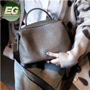 方法ワニの肩の本革袋の卸売Emg5954の西部のハンドバッグの女性ハンドバッグ