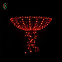 LED 모티프 야외 자이언트 스트리트 디스플레이 조명(크리스마스 및 홀리데이)