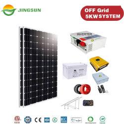 Jingsun 5kw 10kw van het Systeem van de ZonneMacht van het Net met de Generator van de Energie van de Batterij