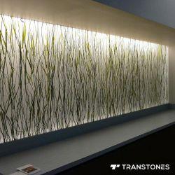 PETG Hand-Made Transtones acrylique pour l'intérieur décors de douche