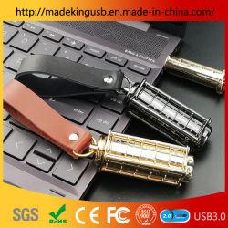 Wholesale cilíndrico retro de bloqueo de código rotativo U disco/USB Flash Drive