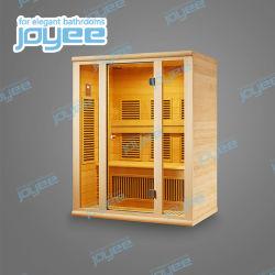 Joyee 2 de Sauna van het Blokhuis van de Persoon met het Controlebord van de Computer