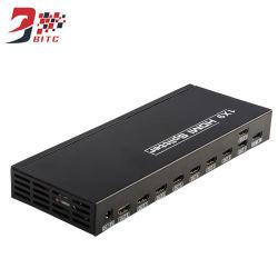 4K HDMIのディバイダー1X9のDVDプレイヤーTVのためのビデオディストリビューター9ポート