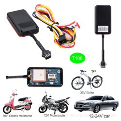 Dispositif de repérage GPS du véhicule automobile avec le capteur de carburant T108