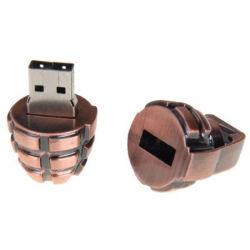금속 Retro 수류탄 USB 섬광 드라이브