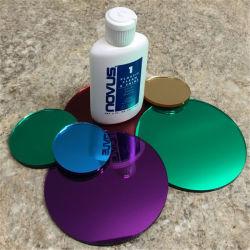 ディスクは着色された鋳造物固体PMMAアクリルミラーシートを特定のサイズにカットした