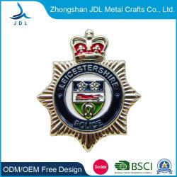 Personal Design estampillé de fer doux broche métallique émail d'un insigne avec un placage or plaqué de marque personnalisée Nickle broche insignes (288)