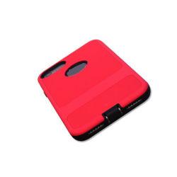 Moda de luxo TPU cor sólida Soft Phone caso, 2 em 1 cores puras monocromático tampa posterior do disco rígido do PC para telefone X/10/8/7