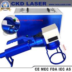 Ordinateur de poche en métal 20W QR Code carte machine de marquage au laser optique