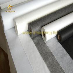Hoogwaardige 100% polyester ronde gebreide interlining gezekerde Woven-interface