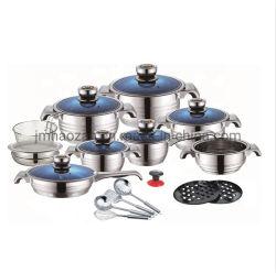 Роскошь и ручку Housewares посудой из нержавеющей стали кухонные принадлежности 16ПК посуда, широкий край и 9 шагов в нижней части