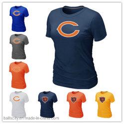 Custom несет женщин футболки любого цвета оптовой спортивная одежда
