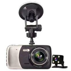 Lente dupla carro HD DVR/Caixa Preta /Gravador de Vídeo/ Viehcle Gravador automático para a segurança do condutor acidente (AVP035E001)