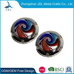 Мода пользовательские цинкового сплава металла подарок пакет держатель складные Puching Сублимация Bag подвес с алмазной (55)