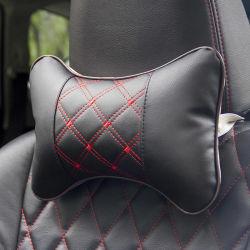 도매 차 부속품 승진 PU 가죽 연약한 어린이용 카시트 헤드 목 나머지 베개 HP001
