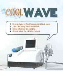 Cryo Lipo Verkleinerung Ondas Acousticas Stoßwelle-Fett verringern Einheit