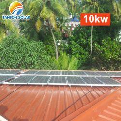 5kw 태양 가정 시스템을%s 5kw 10kw 태양 잡종 변환장치