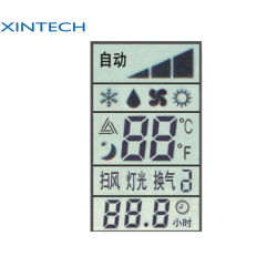 Segment de chiffres d'Odomètre personnalisée va l'écran LCD transparent