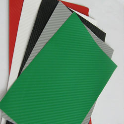 Preto inelástica grossista Sounda 3D e auto-adesivo vinil de fibra de carbono