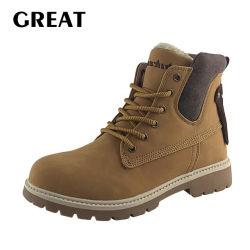 Greatshoe Mann-Sport-Sicherheits-wandernde/kletternde Schuhe, Cowboy Hoch-Schnitten Entwurfs-Martin-Sport-Aufladung