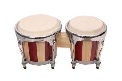 ハンドメイドの木製のドラムボンゴドラムセット