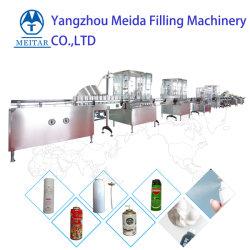 La pintura en aerosol de nieve automática de la celebración de la línea de producción de pulverización