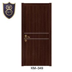 MDF Surface PVC Porte en bois avec jambage de porte