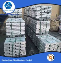 Baar van het Zink van het Metaal van de Verkoop van China de Beste/Varken 99.995%