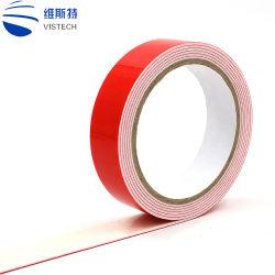 Usine de la vente directe de la Papeterie Strong Ruban adhésif double face avec le transporteur de tissus ou de mousse ou un animal de compagnie