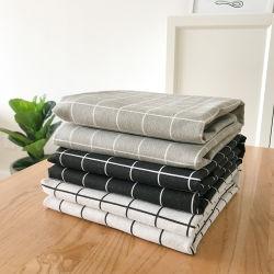 100 % Baumwolle, weiße, Individuell Zugeschnittene Stickerei in Flight Leinen Tischdecke