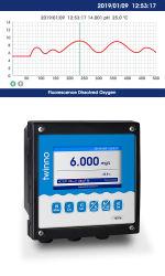 Neues Produkt T6000-- OnlinepH/ORP Messinstrument der Bildschirmanzeige-mit Farbe LCD-Bildschirmanzeige neigen