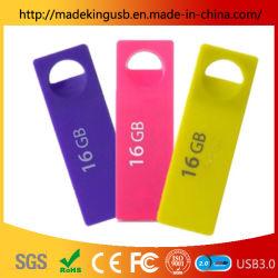 패션 특성 플라스틱 USB 스틱/미니 울트라 씬 소형 USB 플래시 드라이브