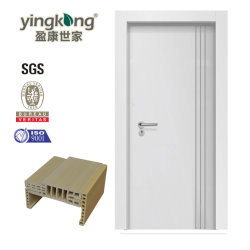 Israel à prova de madeira interior composto ABS/PVC/WPC Painel de porta com a Estrutura