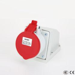 IP44 водонепроницаемый 16A 220V 3 контактный электрический мужского и женского промышленных разъем и разъем