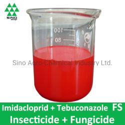 L'imidaclopride 233G/L + Tebuconazole 13g/L Fs de fongicide insecticide et de pesticide