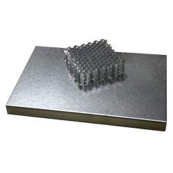 L'aluminium métallique Honeycomb panneau sandwich pour revêtement mural et la décoration